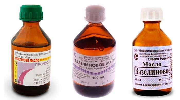 масло вазелиновое